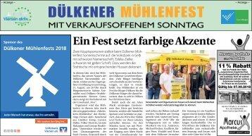 18. Dülkener Mühlenfest -31.08.18-