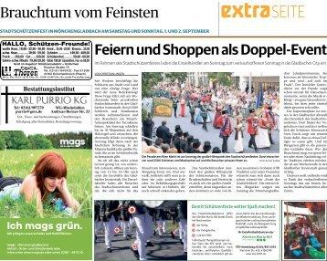 Stadtschützenfest in Mönchengladbach -31.08.18-
