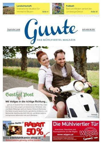 Guute September 2018