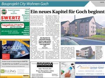 City Wohnen Goch -01.09.2018-