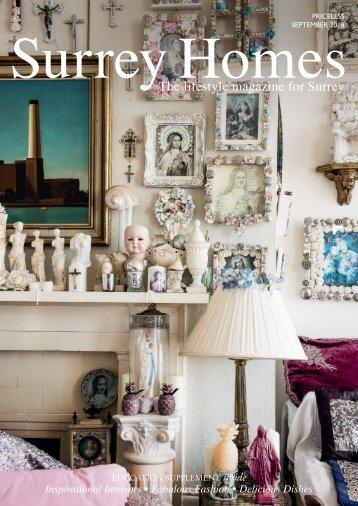Surrey Homes | SH47 | September 2018 | Education supplement inside