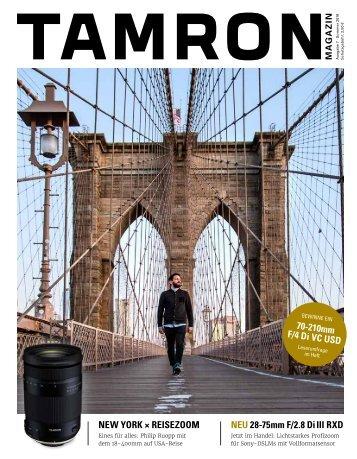 Tamron Magazin Ausgabe 7 Sommer 2018