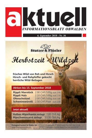 36-2018 Aktuell Obwalden