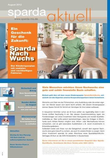 Gute Argumente für den Kontowechsel: Platz 1 - Sparda-Bank Münster