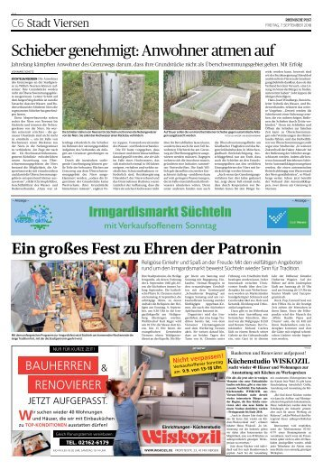 Irmgardismarkt Süchteln - 07.09.2018