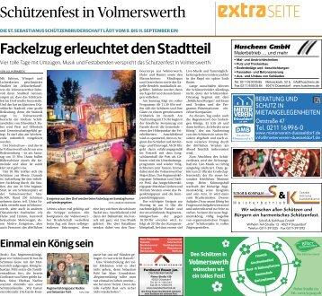 Schützenfest in Volmerswerth - 07.09.2018