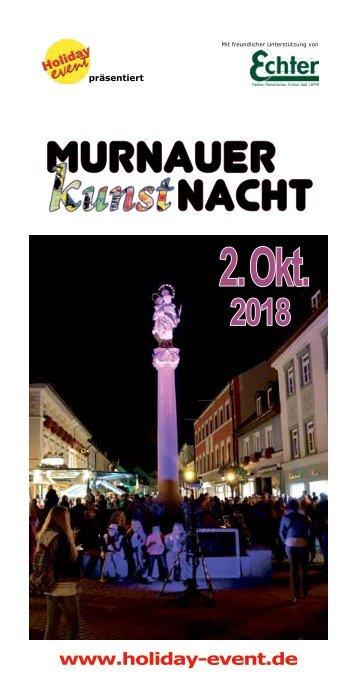 Murnauer Kunstnacht 2018