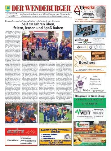 Der Wendeburger 14.09.18