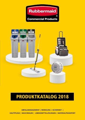 Rubbermaid Produktkatalog 2018