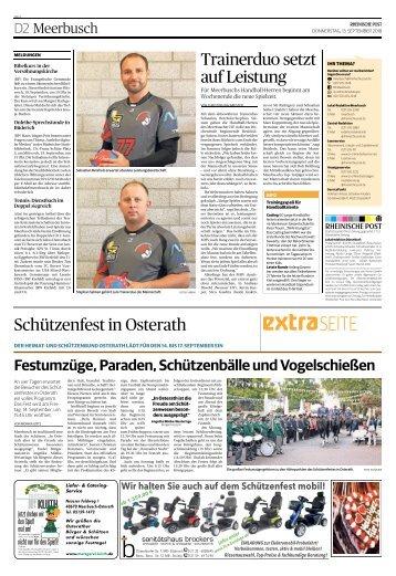 Schützenfest in Osterath  -13.09.2018-