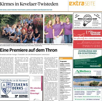 Kirmes in Kevelaer-Twisteden  13.09.2018-