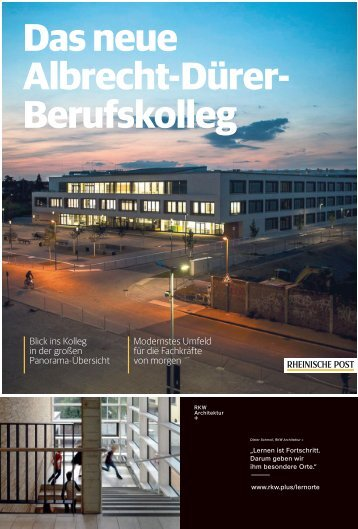 Das neue Albrecht-Dürer-Berufskolleg  13.09.2018-