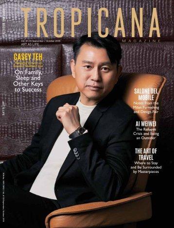 Tropicana Magazine Sept-Oct #120 : Art As Life