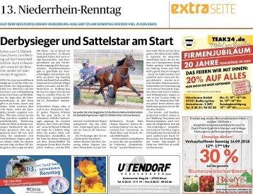 13. Niederrhein-Renntag  -14.09.2018-