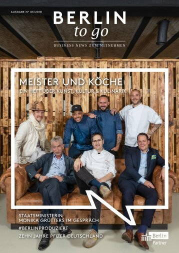 Berlin to go, Ausgabe 3.2018