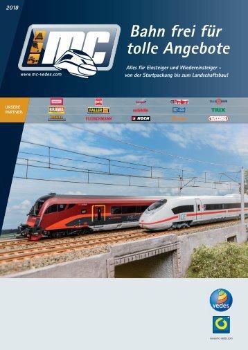 VEDES MC Katalog Modellbahn 2018