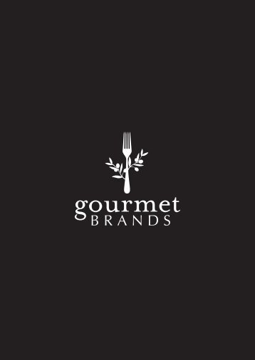 Gourmet Brands Brochure 2018
