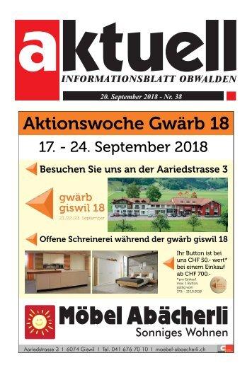 38-2018 Aktuell Obwalden