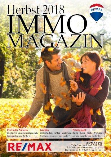 Immomagazin Pro - Herbst 2018