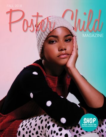 Poster Child Magazine, Fall 2018