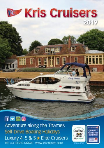 2019 PDF Kris Cruisers Cruiser Brochure