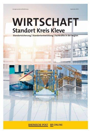 Wirtschaft Standort Kreis Kleve  -27.09.2018-