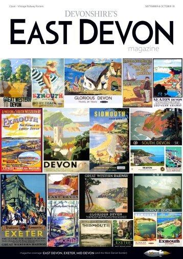 Devonshire's East Devon magazine September October 2018