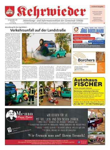 Kehrwieder Söhlde 27.09.18