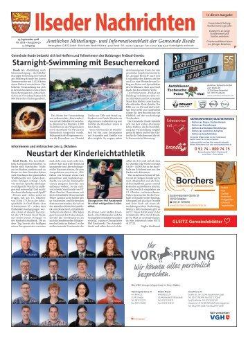 Ilseder Nachrichten 27.09.18