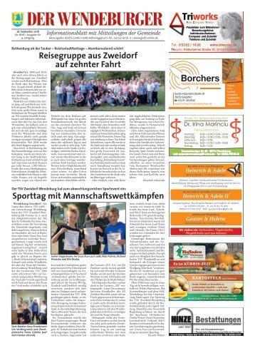 Der Wendeburger 28.09.18