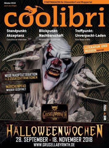 Oktober 2018 - coolibri Düsseldorf, Wuppertal