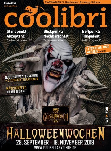 Oktober 2018 - coolibri Oberhausen, Duisburg, Mülheim