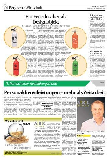 11. Remscheider Ausbildungsmarkt  -26.09.2018-