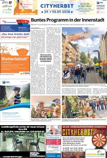 Grevenbroicher Cityherbst  -27.09.2018-