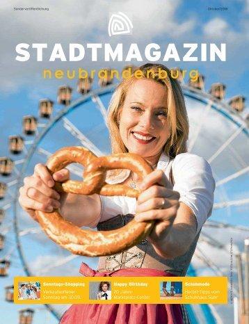 Stadtmagazin Oktober 2018