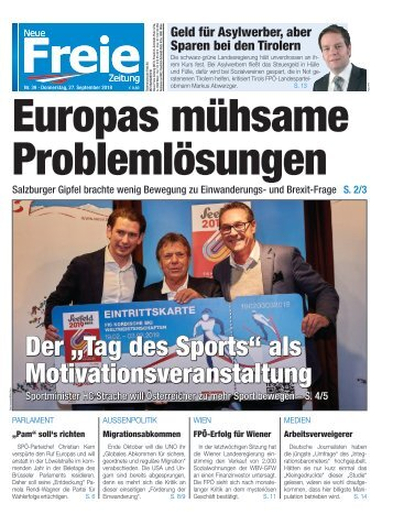 Europas mühsame Problemlösungen