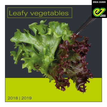 Leafy Vegetables 2018