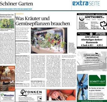 Schöner Garten  -03.10.2018-