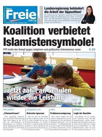 Koalition verbietet Islamistensymbole