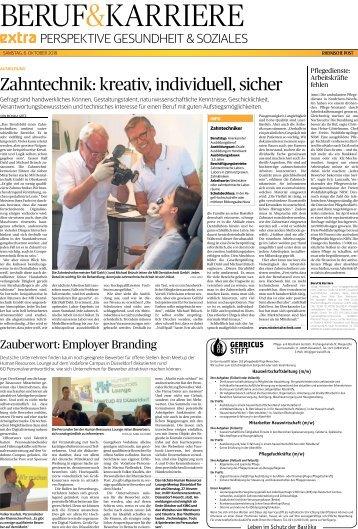 Beruf & Karriere  -06.10.2018-