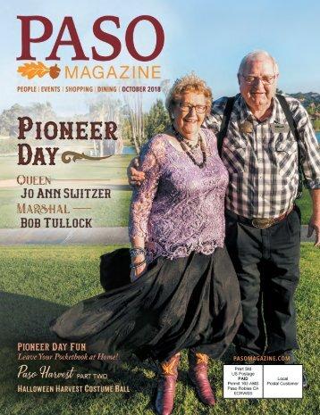 2018 October Issue PASO Magazine