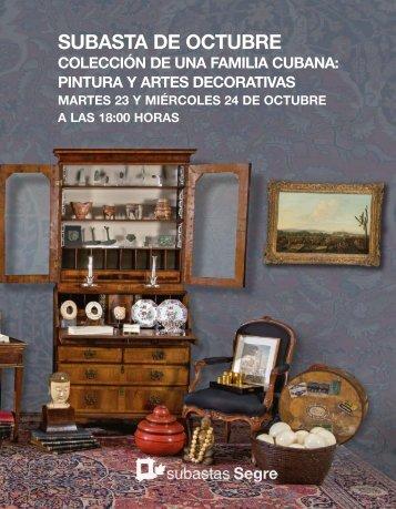 Colección Cubana Subasta Especial Octubre 2018