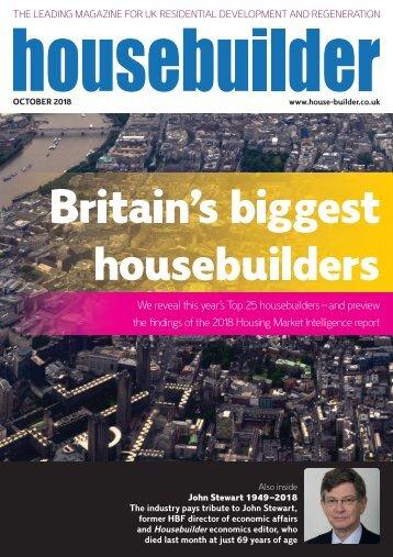 Housebuilder October 2018