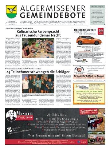 Algermissener Gemeindebote 11.10.18