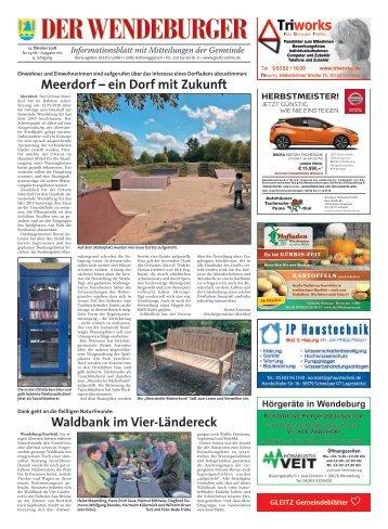 Der Wendeburger 12.10.18