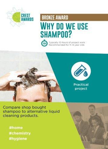 Why do we use shampoo