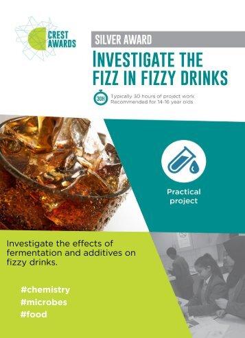 The fizz in fizzy drinks