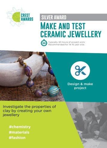 Ceramic jewellery