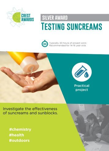 Testing suncreams