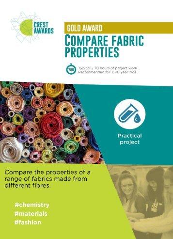 Compare fabric properties